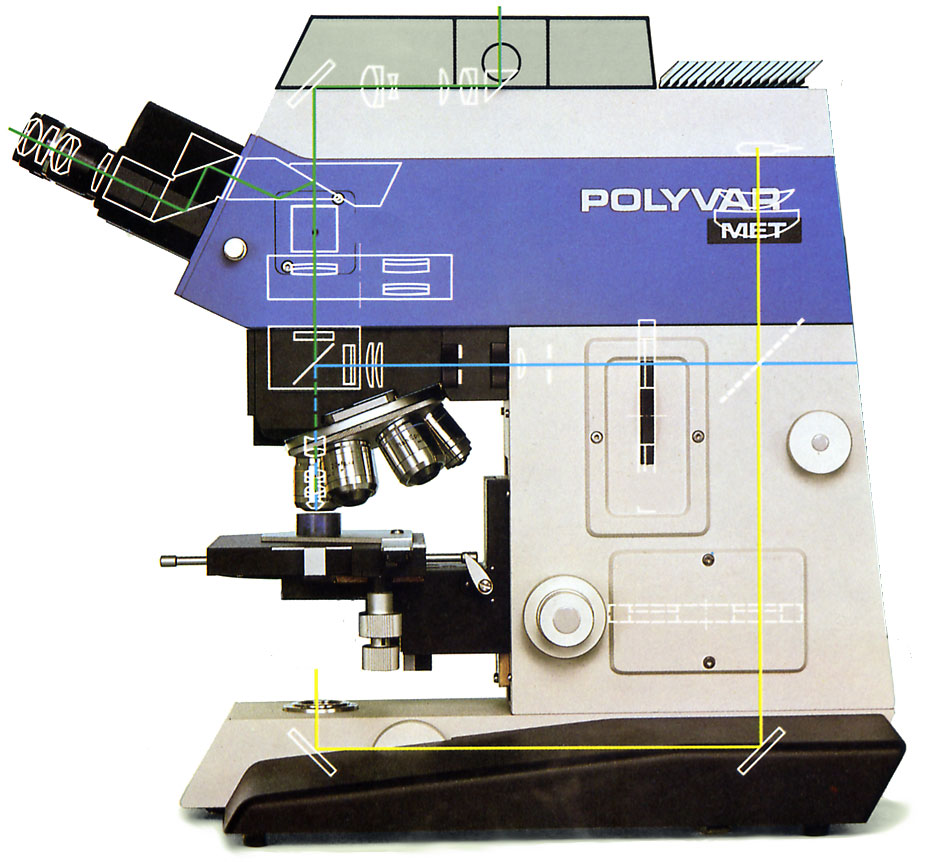 Reichert Polyvar Met Optical Microscope